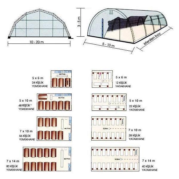 Spor sahaları üst ve yan tente kapama hizmetleri