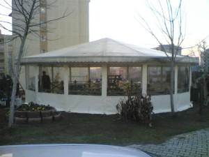 cafe, kış bahçesi, portatif çadır